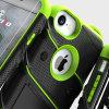 Zizo Bolt Series iPhone 8 / 7 Tough Case & Belt Clip - Black / Green