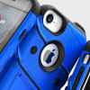 Zizo Bolt Series iPhone 7 Tough Case & Belt Clip - Blauw / Zwart