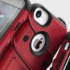 Zizo Bolt Series iPhone 8 / 7 Tough Case & Belt Clip - Red / Black