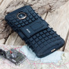 ArmourDillo Hybrid Motorola Moto Z Hülle in Schwarz