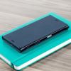 Original Sony Xperia XZ Style Cover Stand Tasche in Blau