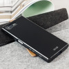 FlexiShield Sony Xperia X Compact Gel Hülle in Solid Schwarz