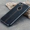 Premium Genuine Leather iPhone 7 Case - Black