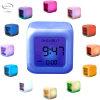 Mayhem Aurora LCD Colour Changing Alarm Clock