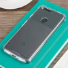 Cruzerlite Defence Fusion Google Pixel XL Bumper Case - Clear