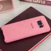 Official Samsung Galaxy S8 Alcantara Cover Case - Pink