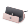 Forever Docking Station iPhone Desk Stand with Cable - Rose Gold