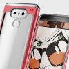 Ghostek Cloak 2 Series LG G6 Aluminium Tough Case - Clear / Red