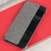 Official Huawei P10 Smart View Flip Case - Lichtgrijs