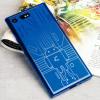 Cruzerlite Bugdroid Circuit Sony Xperia XZ Premium Case - Blauw