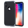 Olixar X-Duo iPhone X Hülle in Carbon Fibre Metallic Grau