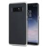 Olixar X-Duo Samsung Galaxy Note 8 Skal - Kolfiber Silver