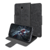 Olixar Leather-Style Samsung Galaxy J5 2017 Wallet Stand Case - Black
