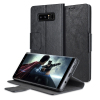 Olixar Leather-Style Samsung Galaxy Note 8 Wallet Stand Case - Black