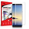 Zizo Full Body Samsung Galaxy Note 8 Tempered Glas Displayschutz