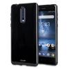 Olixar FlexiShield Case Nokia 8 Hülle in Tiefes Schwarz