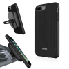 Evutec AERGO Ballistic Nylon iPhone 8 Plus Case & Vent Mount - Black
