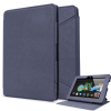 Folio Leather-Style Stand Case for Kindle Fire HDX 7 - Blue