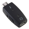 Mini USB To Micro USB Adapter With On / Off Switch