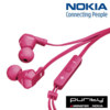 Nokia Purity In-Ear Stereo Headphones - Fuchsia