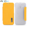 ROCK Elegant Side Flip Case for Motorola Moto X - Orange