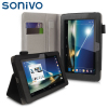 Sonivo Executive Tesco Hudl Case and Stand - Black.