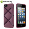 SwitchEasy Bonds Hybrid Case for iPhone 5S / 5 - Purple