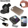 The Ultimate BlackBerry Q10 Accessory Pack - Black