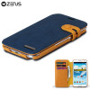 Zenus Masstige Color Edge Diary Case for Samsung Galaxy Note 2 - Navy