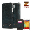 Zenus Masstige Croco Diary Case for Samsung Galaxy Note 3 - Navy