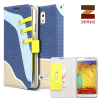 Zenus Masstige Sneakers Diary Case for Samsung Galaxy Note 3 - Blue