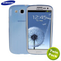 Originele Samsung S3 Slim Case - Blauw - EFC-1G6SBEC - Twin Pack