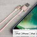 4Smarts RapidCord MFi Lightning Charge & Sync 1m Cable - Rose Gold