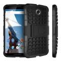 Encase ArmourDillo Google Nexus 6 Hülle in Schwarz