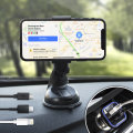 Support Voiture Universel DriveTime Chargeur Lightning et Micro USB