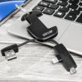 Olixar 2-in-1 Micro USB und Lightning Kabel Schlüsselanhänger