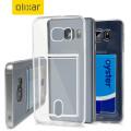 Olixar FlexiShield Slot Samsung Galaxy Note 5 Gel Case - Crystal Clear