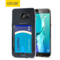 Olixar FlexiShield Slot Samsung Galaxy S6 Edge Plus Gel Case - Grey