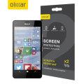 Olixar Microsoft Lumia 950 Screen Protector 2-in-1 Pack