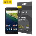 Olixar Nexus 6P Screen Protector 5-in-1 Pack