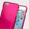 Mercury Goospery iJelly iPhone 6S /  6 Gel Case - Hot Pink