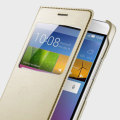 Original Huawei Honor 5X View Flip Case Tasche in Gold