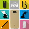 Das Ultimate Pack LG G5 Zubehör Set in Schwarz