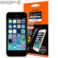 Spigen GLAS.tR SLIM iPhone SE Tempered Glass Screen Protector - 2 Pack