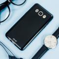 Olixar FlexiShield Samsung Galaxy J5 2016 Gel Hülle in Solid Schwarz