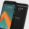 dbrand HTC 10 Carbon Fibre Skin - Black