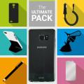 Das Ultimate Pack Samsung Galaxy Note 7 Zubehör Set in Schwarz