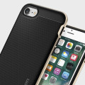 Spigen Neo Hybrid iPhone 7 Case - Champagne Gold