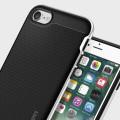 Spigen Neo Hybrid Case iPhone 7 Hülle Satin Silber