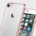 Spigen Ultra Hybrid iPhone 7 Bumper Hülle in Rosa Crystal